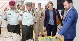 الأردن يتسلم معدات عسكرية ألمانية