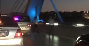 محاولة انتحار جديدة على جسر عبدون (صور)