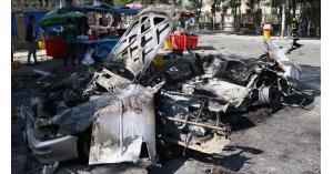8 قتلى و27 مصابا بانفجار قرب جامعة كابول