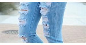 تحذيرات من ارتداء الجينز الممزق
