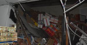 وفاة و 3 اصابات اثر انهيار سدة محل تجاري في الزرقاء