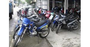 ضبط 120 دراجة نارية بحملة ضد مضخمات الصوت