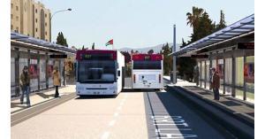 خريطة مسار الباص السريع