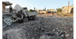 سورية: 19 قتيلا بغارات روسية على معرة النعمان