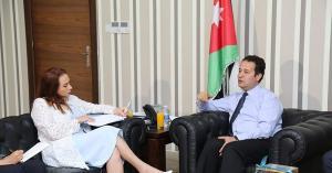 وزير الشباب يلتقي رئيسة الجمعية العامة للأمم المتحدة