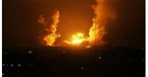 الإحتلال يقصف تل الحارة بريف درعا السوري