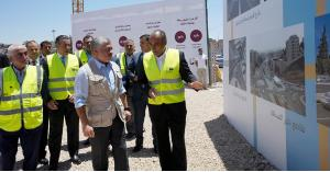 أمين عمان: الزيارة الملكية لمحطة صويلح للباص السريع شكلت دافعا للمزيد من الانجاز