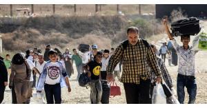نزوح 400 ألف سوري شمالاً جراء التصعيد
