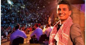 عساف يغني للملك والأردن والكوفية في جرش