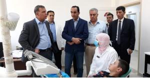 وزير الصحة يتفقد سير عمل الخدمات الصحية في البلقاء