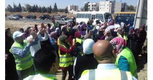 """مبادرة """" اردن النخوة """" تنفذ حملة نظافة بيئية في مادبا"""
