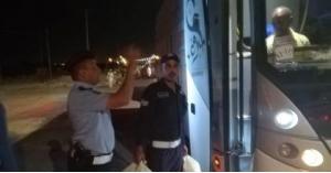 """بالصور : قوافل الحج المصرية تصل """"معان"""" والأمن يعترض طريقهم"""