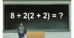 معادلة رياضية تثير الجدل عبر مواقع التواصل الاجتماعي