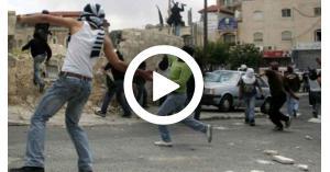 إصابة عشرات الفلسطينيين شرقي القدس (فيديو)