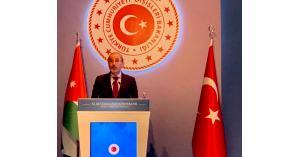 وزير الخارجية يحاضر في مؤتمر السفراء الأتراك بأنقرة
