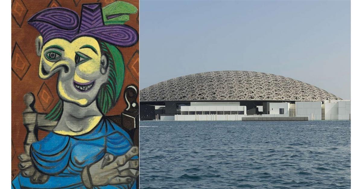 """""""اللوفر أبوظبي"""" يستضيف بيكاسو وكبار فناني القرن العشرين"""