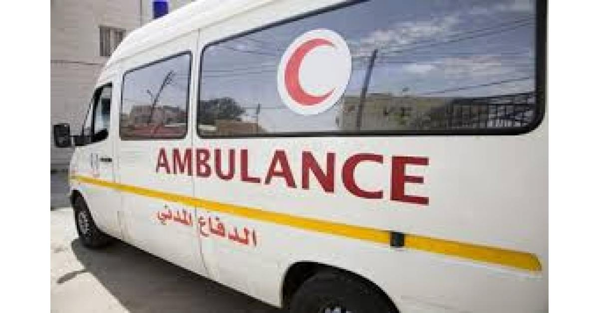 وفاة شخصين وإصابة ثلاثة آخرين اثر حادث تدهور في محافظة العاصمة