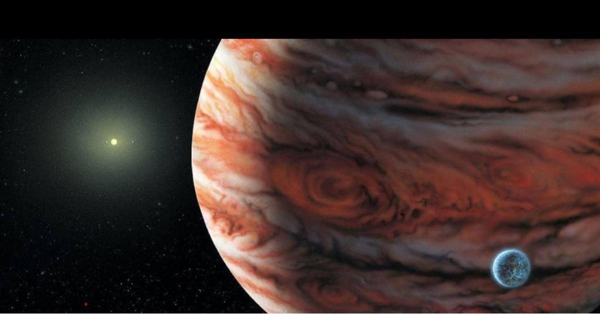 كوكب ضخم ربما ارتطم بالمشتري