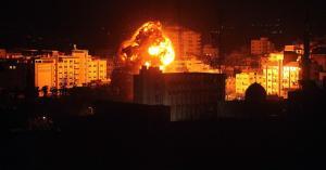 الاحتلال الإسرائيلي يقصف موقعاً للمقاومة في غزة