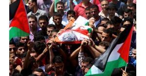 تشيع شهداء في غزة