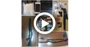 مكافحة المخدرات تتعامل مع عدة فضايا (فيديو)