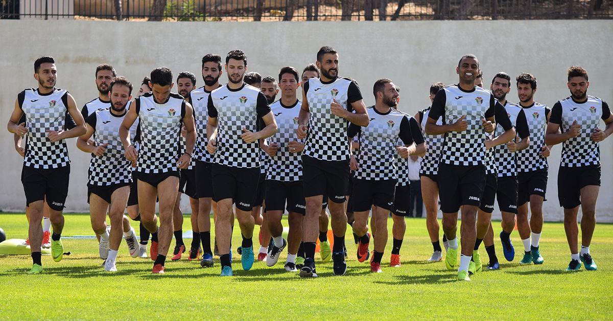المنتخب الأولمبي يلتقي فريق شباب الأردن