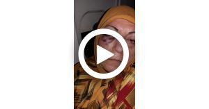 تعرض سيدة للضرب في مطار إيراني (فيديو)
