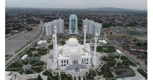 """افتتاح اكبر مسجد فى أوربا """"فخر المسلمين"""" بالشيشان (صور)"""