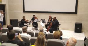 رباعي الاتحاد يحيي امسية موسيقية كلاسيكية في مسرح السلفيتي
