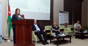 غنيمات ترعى افتتاح مؤتمر النساء كشركاء في التطوير والتقدم