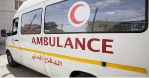 إصابة 6 أشخاص إثر حادث تصادم في اربد