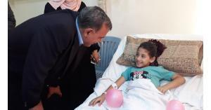 وزير الصحة يتفقد مستشفى جرش الحكومي