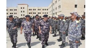البزايعة يتفقد مركز تدريب دفاع مدني الجنوب