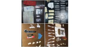 ضبط ٢٢ مروجا وبحوزتهم كميات من المخدرات