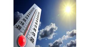 اجواء حارة لثلاثة ايام