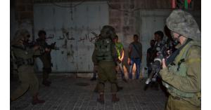 نادي الأسير : الاحتلال الاسرائيلي يعتقل14 فلسطينيا بينهم محاضرة جامعية