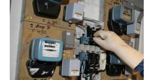 """""""1448"""" حالة سرقة كهرباء بشهر آب الماضي"""
