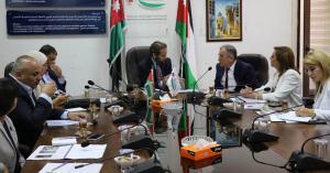 الأمير مرعد يبحث مع شركة العبدلي تنفيذ مشروع المنطقة النموذجية