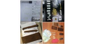 مكافحة المخدرات تلقي القبض على ٢٨ شخصاً من مروجي المواد المخدرة  (صور)