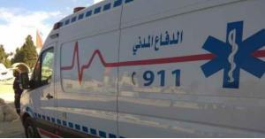 9 إصابات بحادثي تصادم في عمان والزرقاء