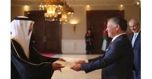 الملك يتقبل أوراق اعتماد عدد من السفراء (صور)