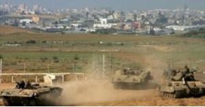 إصابة طفل فلسطيني والاحتلال يتوغل في قطاع غزة