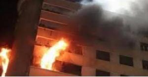 إصابة 6 أشخاص بضيق في التنفس إثر حريق شقة في مرج الحمام