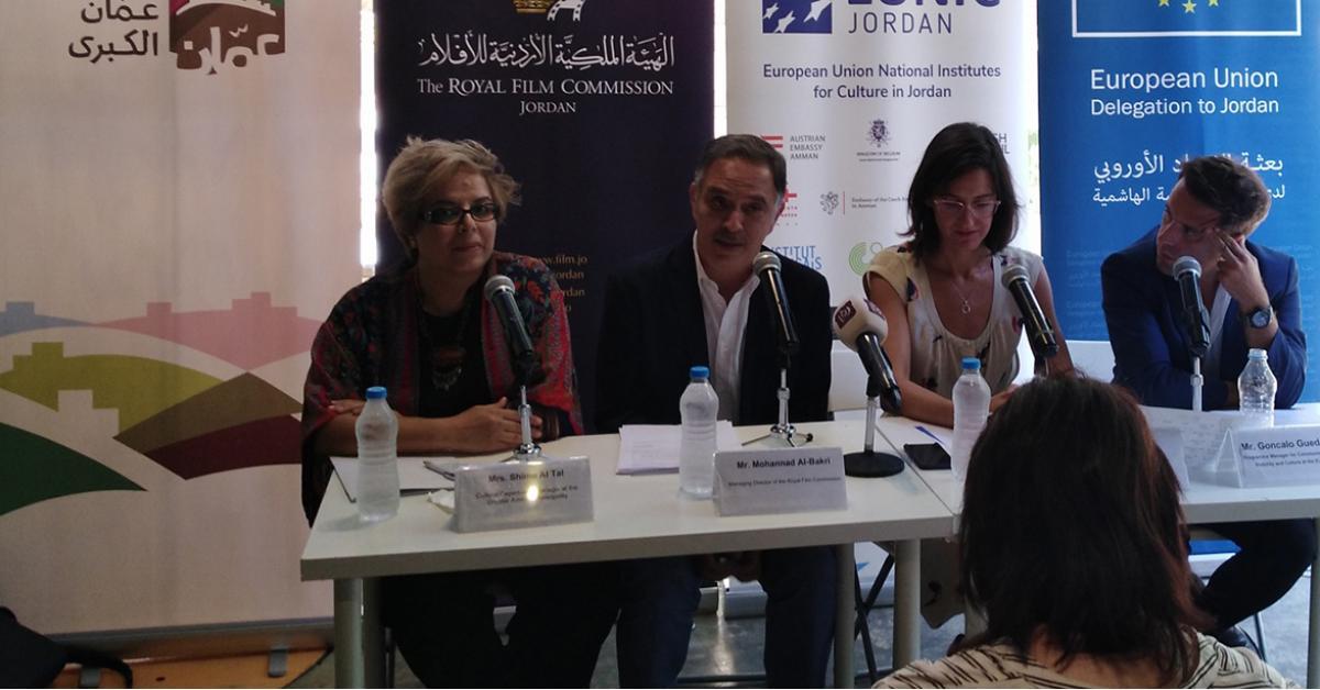مؤتمر صحفي للاعلان عن فعاليات مهرجان الفيلم الاوروبي للدورة 31