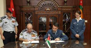توقيع اتفاقية تعاون بين الدفاع المدني والوكالة الألمانية للإغاثة التقنية
