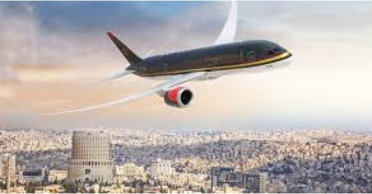 بدء الرحلات الجوية بين عمان وباريس