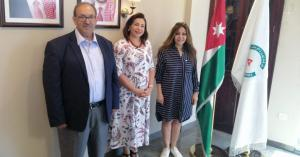 بحث تعزيز التعاون التجاري مع مصر