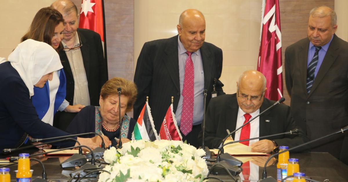 """""""حماية المريض"""" و""""الشرق الاوسط """" توقعان اتفاقية لتعزيز التعاون"""