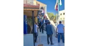 العيسوي يزور مركز تخمين مالية شمال عمان ويشيد بالأداء