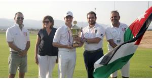 الكردي يحتفظ بلقب بطولة الأردن المفتوحة للجولف